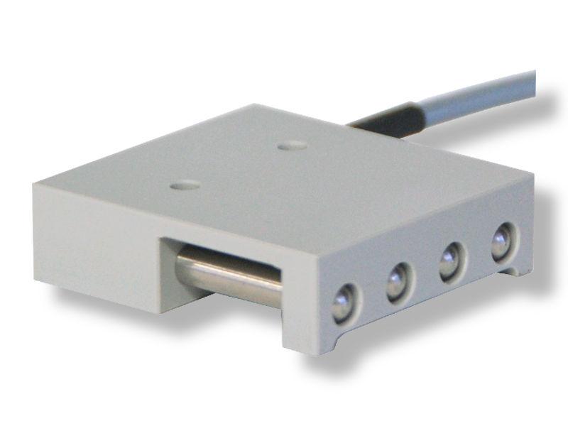 Eine Abbildung des Bodensensores HY-BTV2 zur Überwachung von Wasser im Liftschacht oder der Rolltreppengrube.