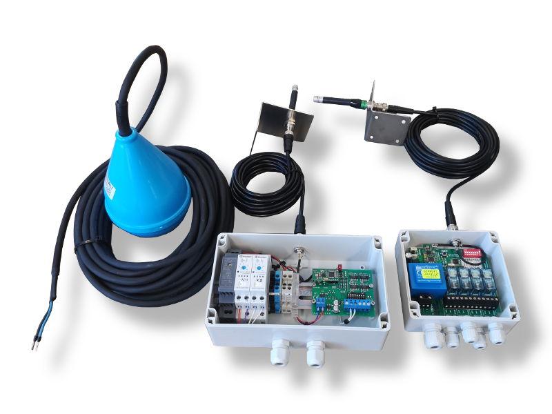 Reservoirsteuerung via Funkübertragung
