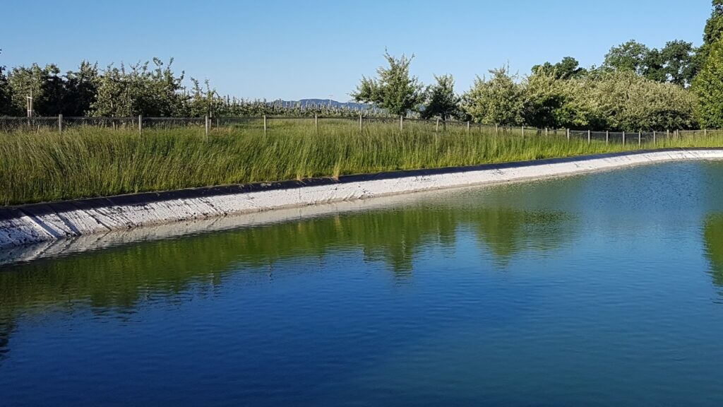 Obstplantage Reservoir Steuerung Funk